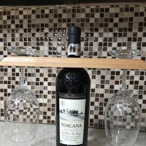 Wood wine rack 🎁